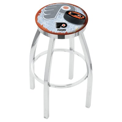 Philadelphia Flyers Bar Stool W/orange Background-l8c2c - L8c2c25phifly-o-d2 - Chairs Table Nhl L8C2C25PHIFLY-O-D2