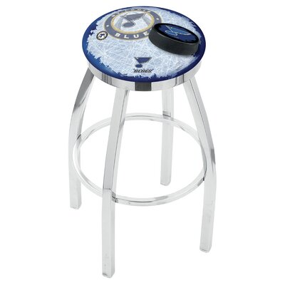 NHL Swivel Bar Stool with Cushion NHL Team: St Louis Blues