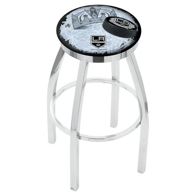 NHL 25 Swivel Bar Stool NHL Team: Los Angeles Kings