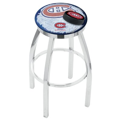 NHL 25 Swivel Bar Stool NHL Team: Montreal Canadiens