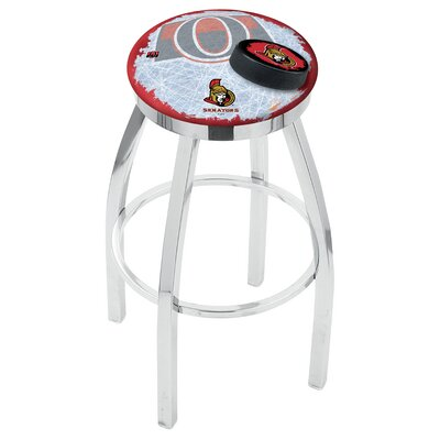 NHL 25 Swivel Bar Stool NHL Team: Ottawa Senators