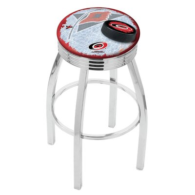 Carolina Hurricanes Bar Stool-l8c3c - L8c3c30carhur-d2 - Chairs Table Nhl Stool L8C3C30CARHUR-D2
