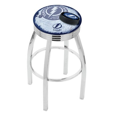 NHL 25 Swivel Bar Stool NHL Team: Tampa Bay Lightning