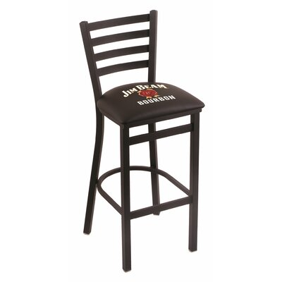Jim Beam Bar Stool with Cushion
