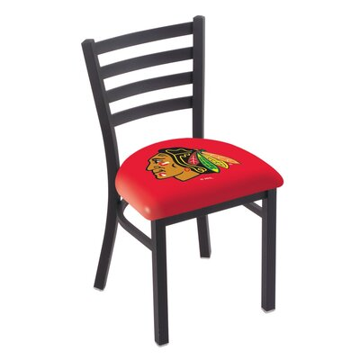 NHL Stationary Side Chair NHL Team: Chicago Blackhawks - Red