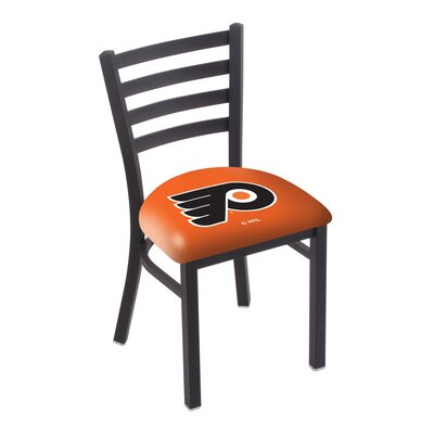 NHL Stationary Side Chair NHL Team: Philadelphia Flyers - Orange