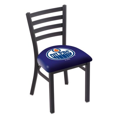 NHL Stationary Side Chair NHL Team: Edmonton Oilers