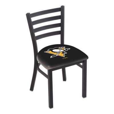NHL Stationary Side Chair NHL Team: Pittsburgh Penguins