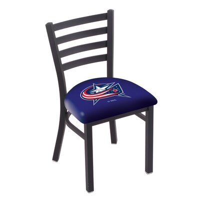 NHL Stationary Side Chair NHL Team: Columbus Blue Jackets