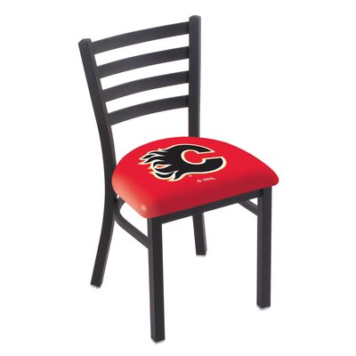 NHL Stationary Side Chair NHL Team: Calgary Flames