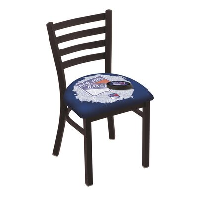 NHL Stationary Side Chair NHL Team: New York Rangers