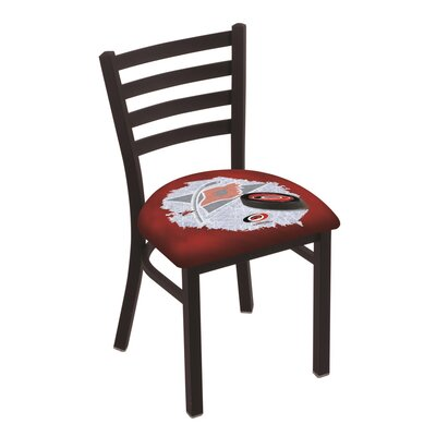 NHL Stationary Side Chair NHL Team: Carolina Hurricanes
