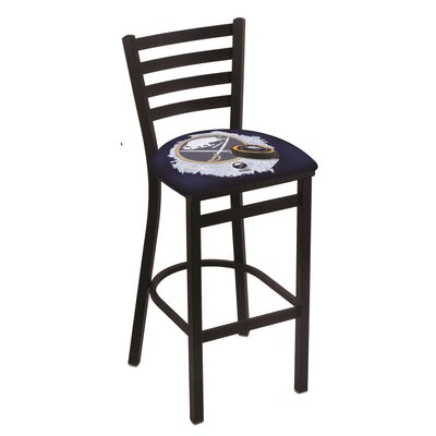 NHL Bar Stool with Cushion NHL Team: Buffalo Sabres