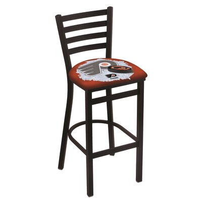 NHL Bar Stool with Cushion NHL Team: Philadelphia Flyers - Orange