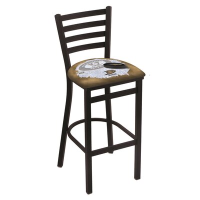 NHL Bar Stool with Cushion NHL Team: Anaheim Ducks