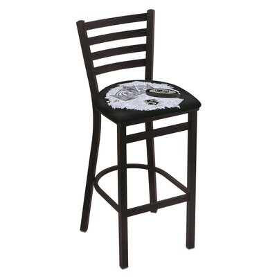 NHL Bar Stool with Cushion NHL Team: Los Angeles Kings