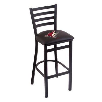 NHL Bar Stool with Cushion NHL Team: Arizona Coyotes