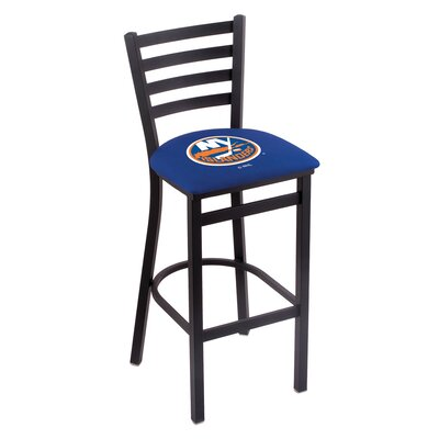 NHL Bar Stool with Cushion NHL Team: New York Islanders