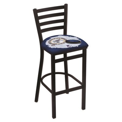 NHL Bar Stool with Cushion NHL Team: St Louis Blues