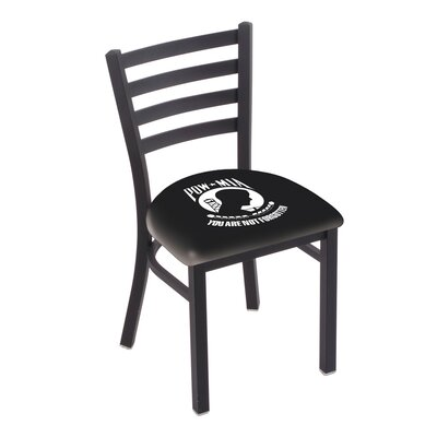POW/MIA Wrinkle Stationary Side Chair