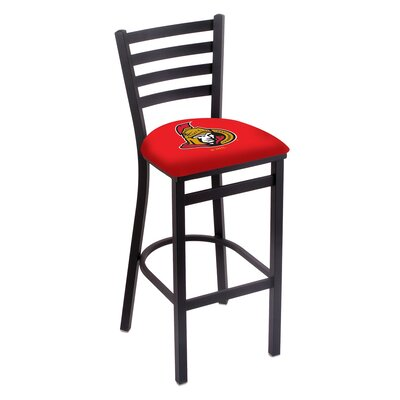 NHL Bar Stool with Cushion NHL Team: Ottawa Senators