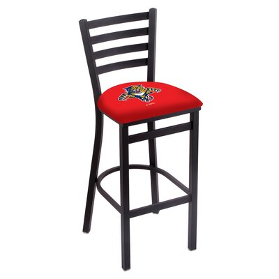 NHL Bar Stool with Cushion NHL Team: Florida Panthers