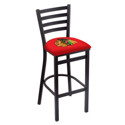 NHL Bar Stool NHL Team: Chicago Blackhawks - Red