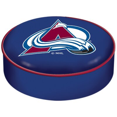 NHL Bar Stool Seat Slipcover NHL Team: Colorado Avalanche