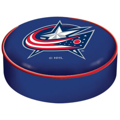 NHL Bar Stool Seat Slipcover NHL Team: Columbus Blue Jackets