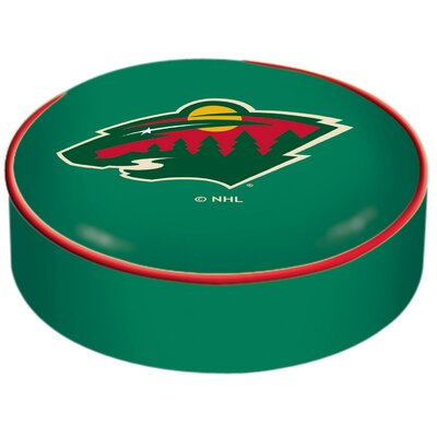 NHL Bar Stool Seat Slipcover NHL Team: Minnesota Wild