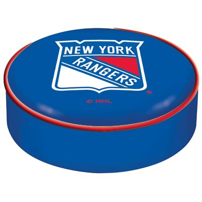 NHL Bar Stool Seat Slipcover NHL Team: New York Rangers