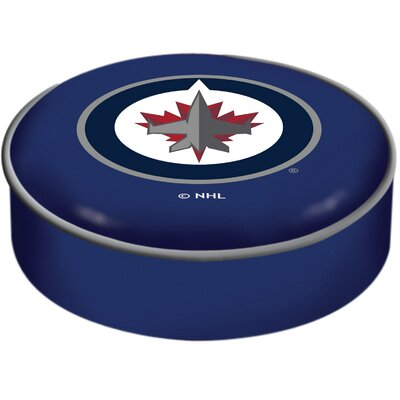 NHL Bar Stool Seat Slipcover NHL Team: Winnipeg Jets