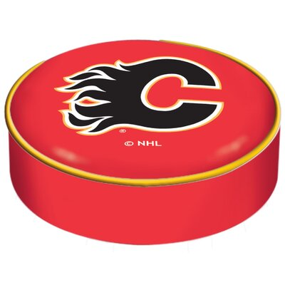NHL Bar Stool Seat Slipcover NHL Team: Calgary Flames