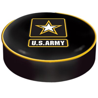US Armed Forces Bar Stool Seat Slipcover Branch: Army