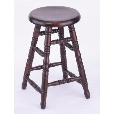"Holland Bar Stool Domestic hardwood Saddle Dish Swivel Stool - Frame Finish: Oak - Medium, Height: 24"", Leg Style: Turned Legs at Sears.com"