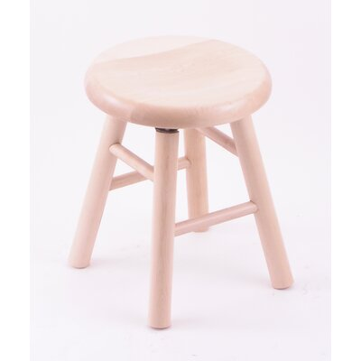 "Holland Bar Stool Domestic Hardwood 18"" Saddle Dish Swivel Stool - Frame Finish: Oak - Natural, Leg Style: Smooth Legs at Sears.com"
