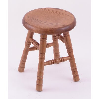 "Holland Bar Stool Domestic Hardwood 18"" Saddle Dish Swivel Stool - Frame Finish: Maple - Natural, Leg Style: Turned Legs at Sears.com"