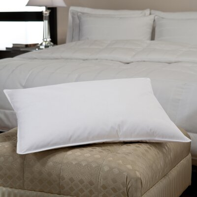 230 Thread Count Medium Firm Chamber Down Pillow Size: Standard