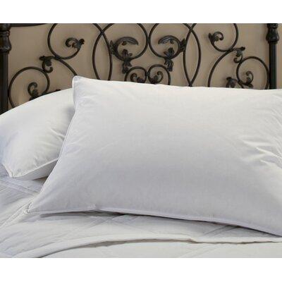 400 Thread Count Sateen Goose Down Standard Pillow