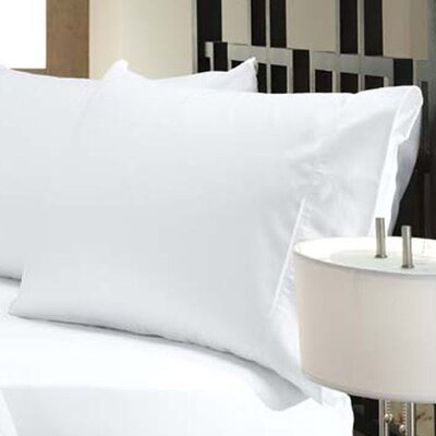 300 Thread Count Tencel Pillow Case Size: Extra Wide Jumbo