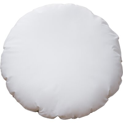 Round Hypoallergenic Cotton Throw Pillow Size: Small
