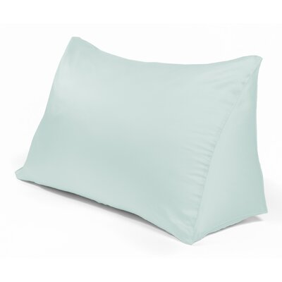 Reading Wedge Pillow Cover Color: Blue Grass
