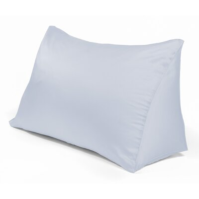 Reading Wedge Pillow Cover Color: Foggy Blue