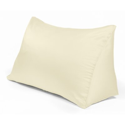 Reading Wedge Pillow Cover Color: Natural