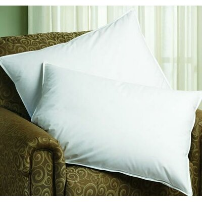 Hypoallergenic Sleep Balance Chamber Down and Feather Pillow Size: Queen