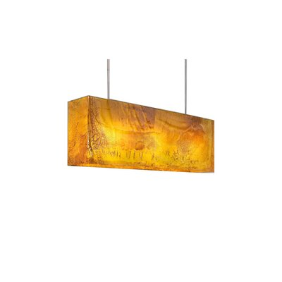 Galaxy 3-Light Kitchen Island Pendant Shade Color: Honey