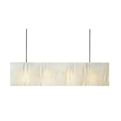 Galaxy 3-Light Kitchen Island Pendant Shade Color: White