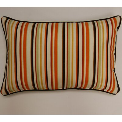 Dockside Corded Lumbar Pillow Color: Cinnamon
