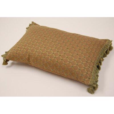 Tassel Fringe Lumbar Pillow