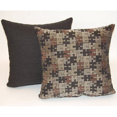 2 Piece Quibble Knife Edge Throw Pillow Set
